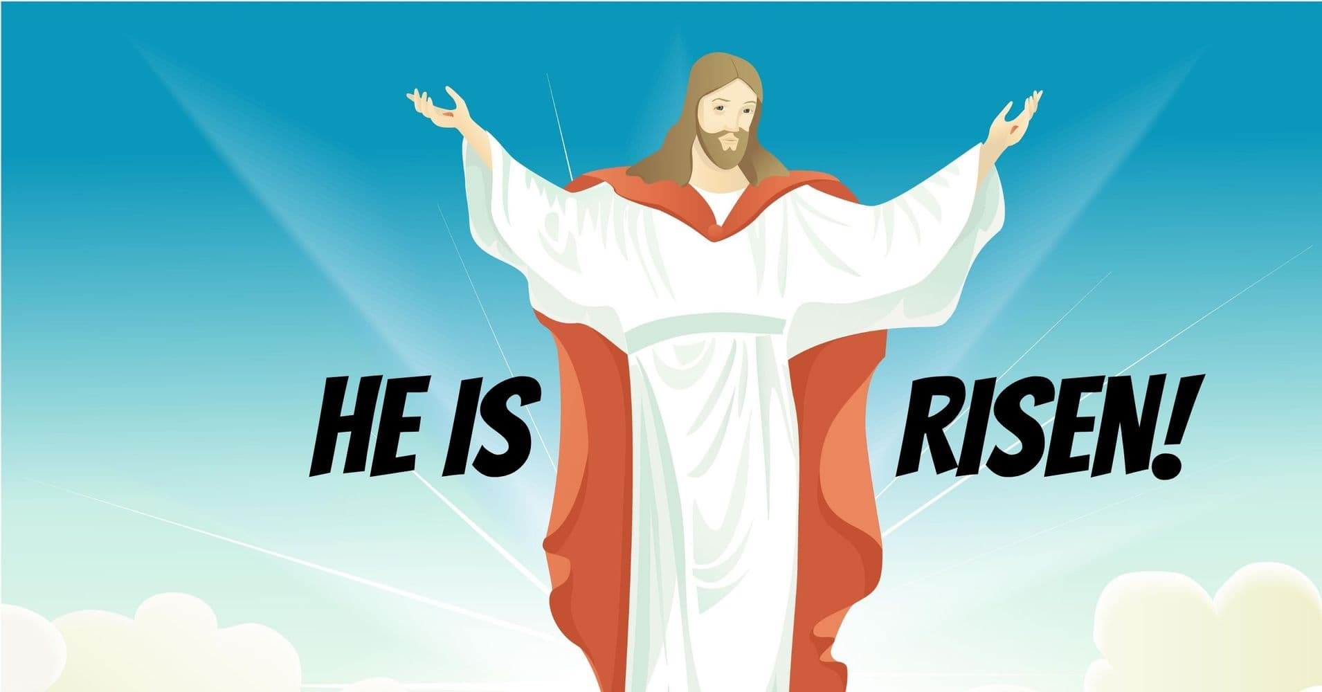 """Featured image for """"Children's Message: He is Risen"""""""
