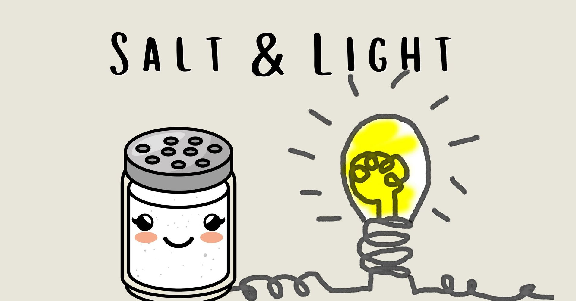 "Featured image for ""Children's Message: Salt & Light"""