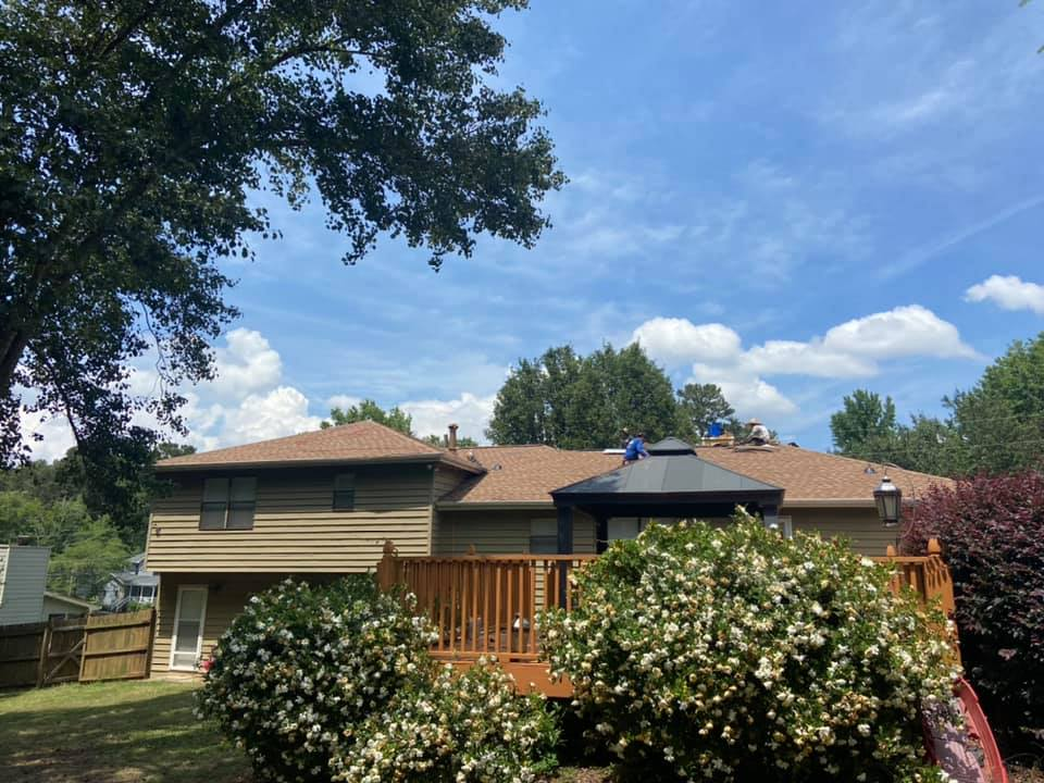 Lawrenceville Home getting a full roof replacement