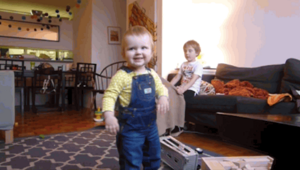 This Time Lapse Of An Adorable Baby Learning To Walk Will Definitely Brighten Your Day!
