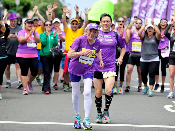 In Honor Of #NationalRunningDay, Check Out This AMAZING 92-Year Old Marathoner