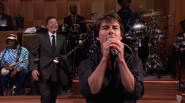 The Lip Sync Battle Continues: Jimmy Fallon Takes on Tom Cruise In A Hilariously Intense Sync-Off