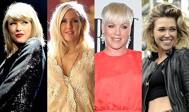 Greatest Musical Mashup Ever: Taylor Swift + Ellie Goulding + P!nk + Rachel Platten