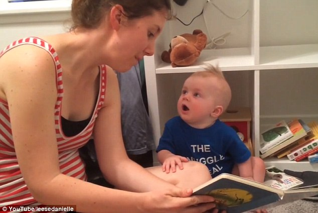 World's Most Adorable Baby Cries Every Time He Finishes A Book