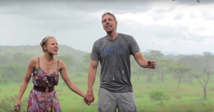 Cutest Couple Ever Kristen Bell And Dax Shepard Made The Awesomest Music Video For Their Africa Trip