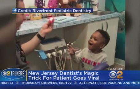 Pediatric Dentist Cures Fear With Magic