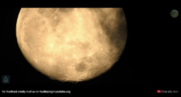 Stunning moon - shot by Forest officer