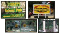 Safari Gates At Jim Corbett