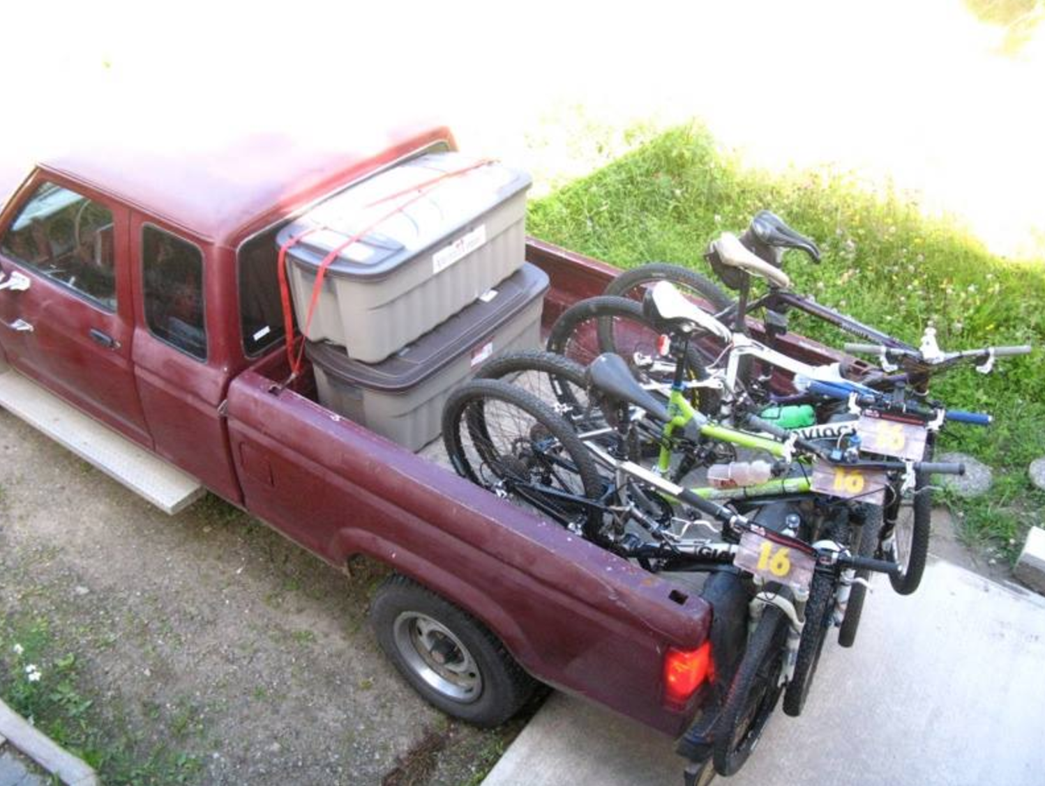 Loading up for the 5-day, 500km Raid the North Adventure Race in 2010