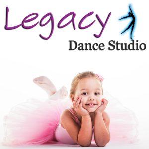 logo legacy dance studio