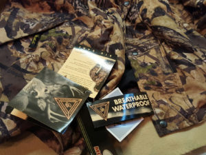 Light weight parka offered by Weatherby several years ago. Mossy oak camo. $150. XL