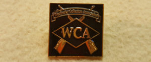 If you don't have one you better get at least 2! Weatherby Collector's Assn. lapel pin. $6 each