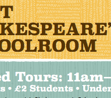 Visit Shakespeare's Schoolroom and help support Edward's Boys' production of The Lady's Trial