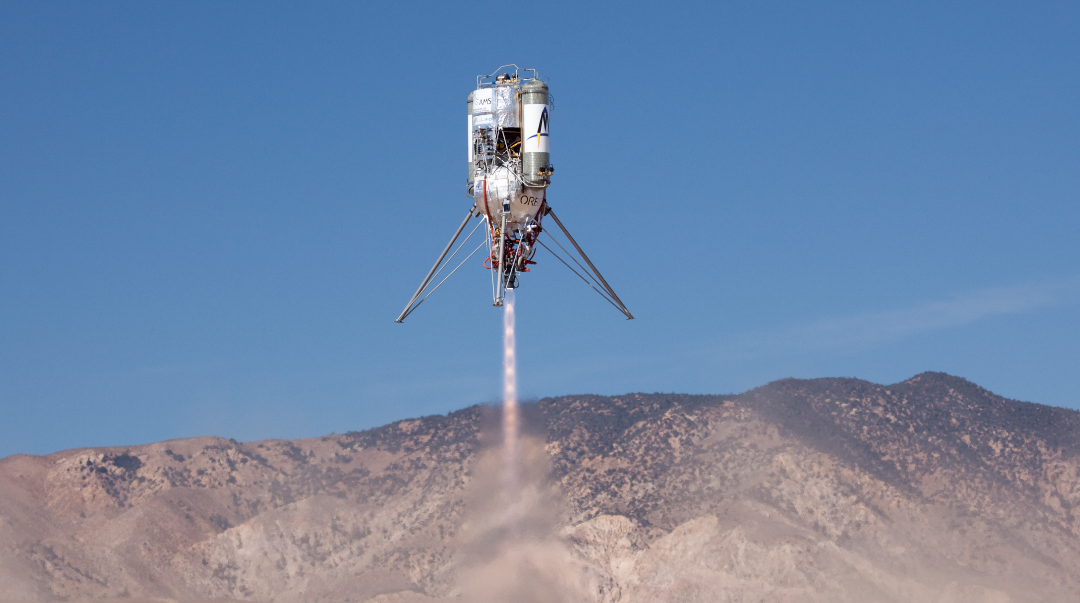 Masten Awarded Two NASA Tipping Point Contracts