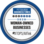 Pittsburgh Business Times 2020 Woman Owned Business Award Logo