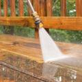 s-powerwashing deck