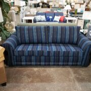 Commercial Grade Sofa Sleepers | Pinstriped Sofa