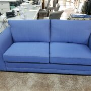 Blue-colored commercial grade sofa sleepers
