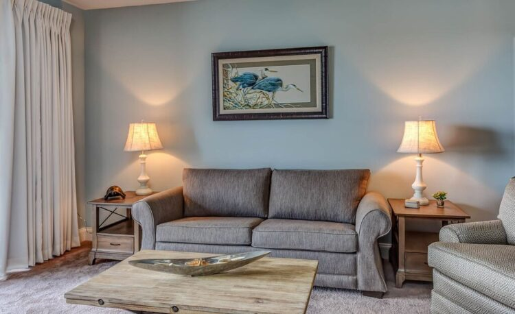 Commercial Grade Chairs | Sleek Gray Loveseat