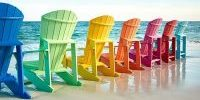 colorful commercial patio furniture sets