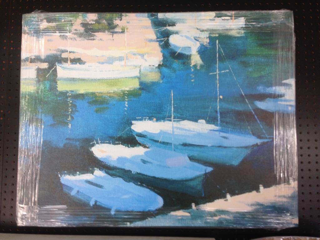 Home Accessories   Boats Artwork