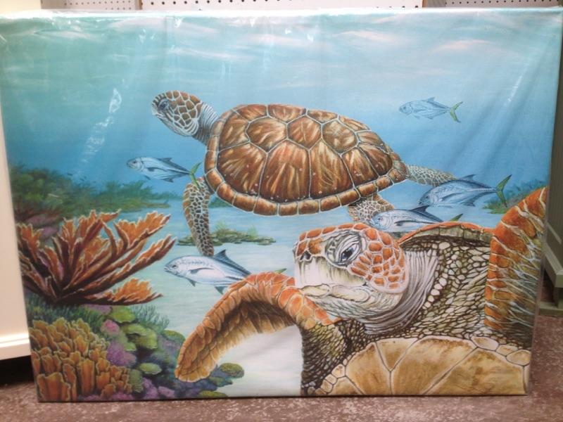 Home Accessories |Turtles Artwork