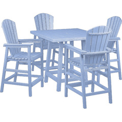 white-colored commercial patio furniture sets