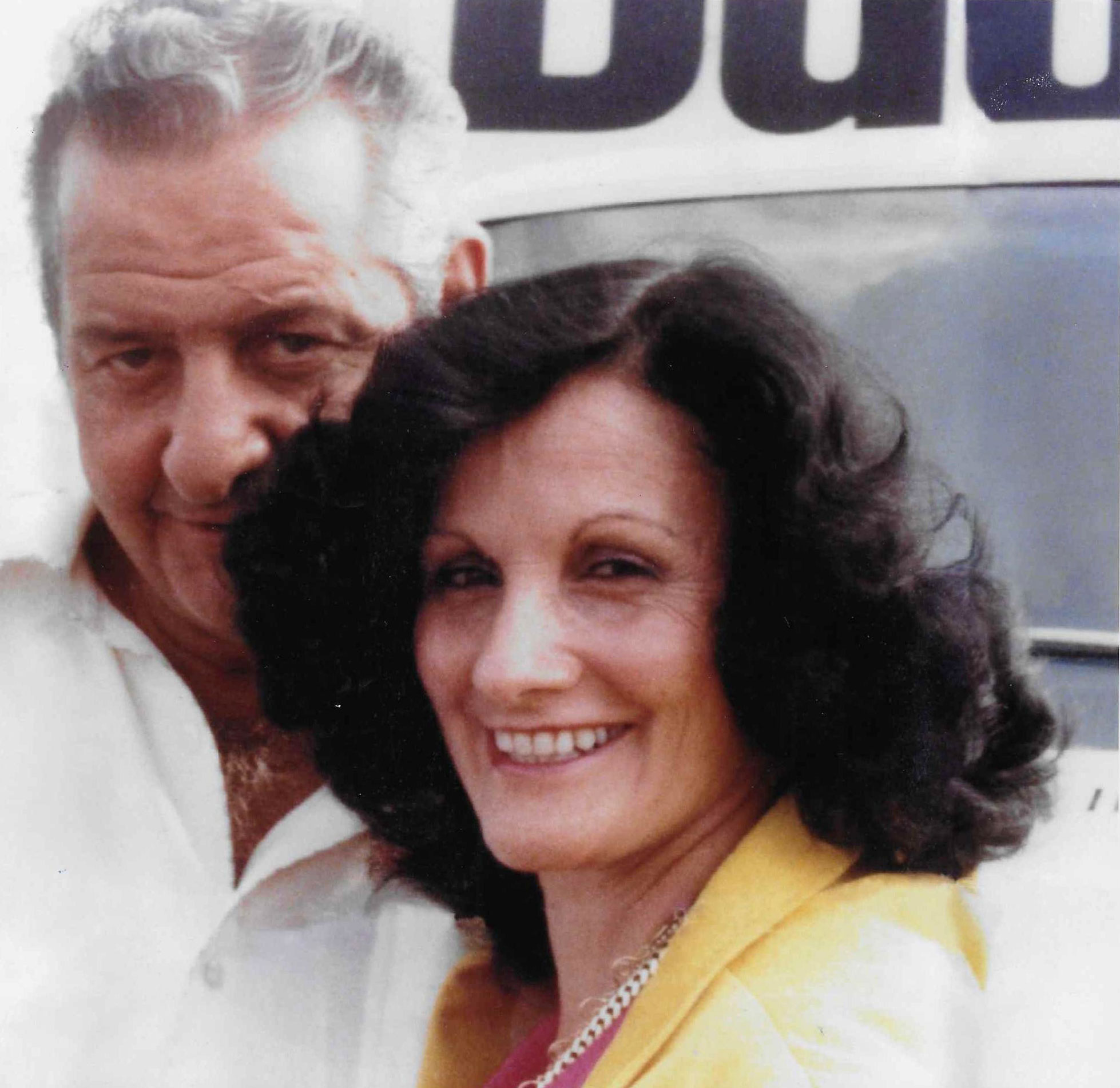 Al and Daisy Monzo in 1975
