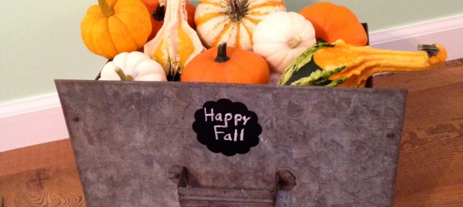 Inexpensive Fall Decorating