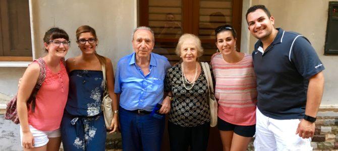 Family day in Sicily