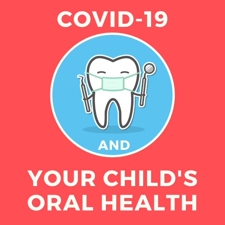 COVID-19 and your child's oral health