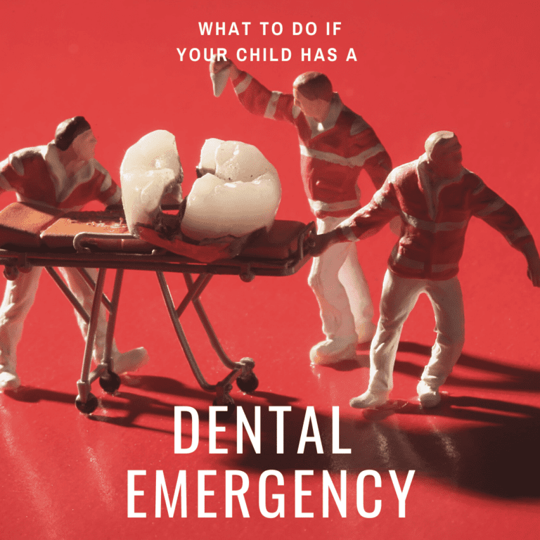 What to do if your child has a dental emergency
