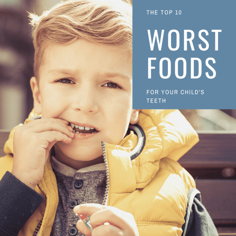 The top 10 worst foods for your child's teeth (1)
