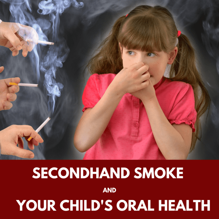 Secondhand Smoke and your Child's oral health