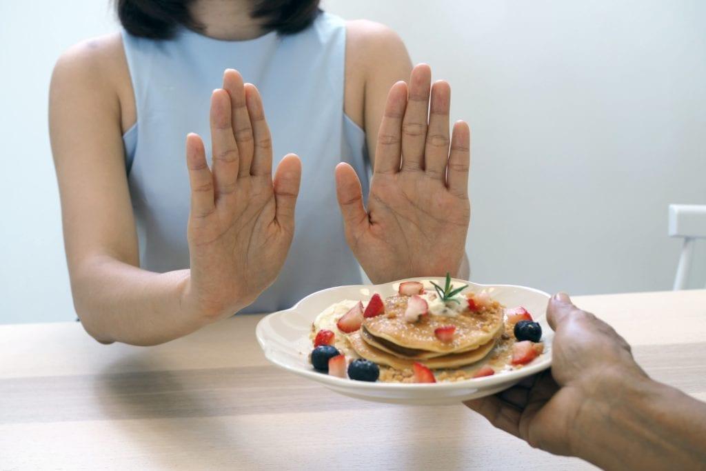 refusing breakfast