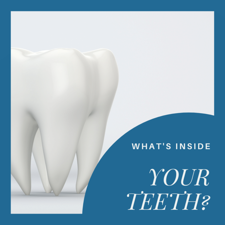 What's Inside your teeth