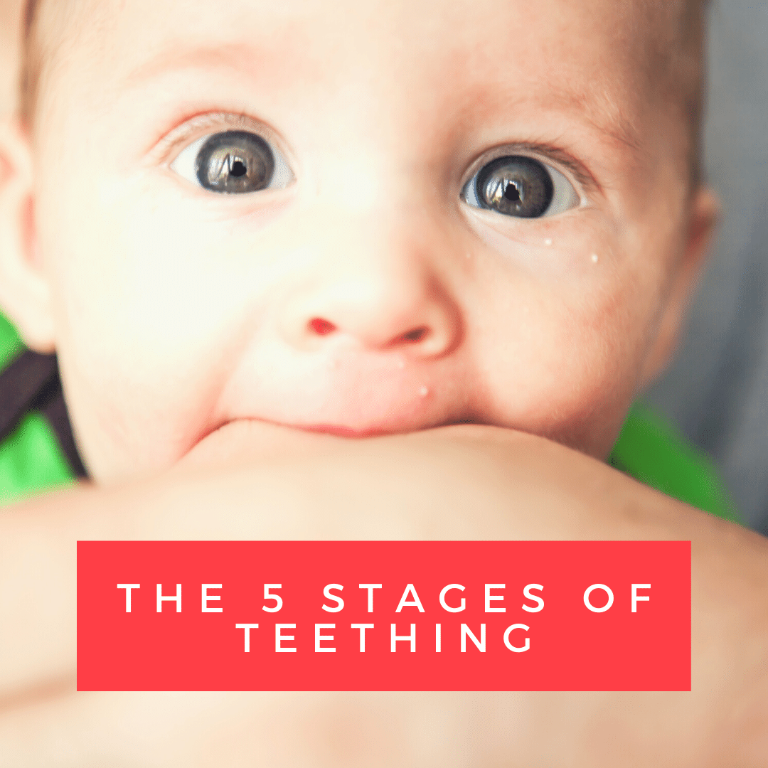 The 5 Stages of Teething