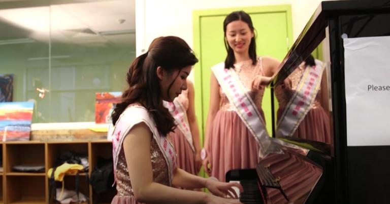 20181009 華裔小姐墨爾本藝術學院賽前訓練