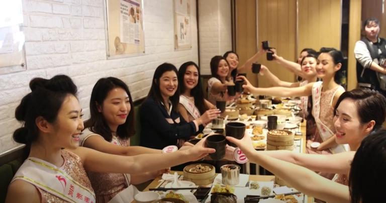 201811010 港式美食為華裔小姐添好運/倩美美容助益華裔小姐