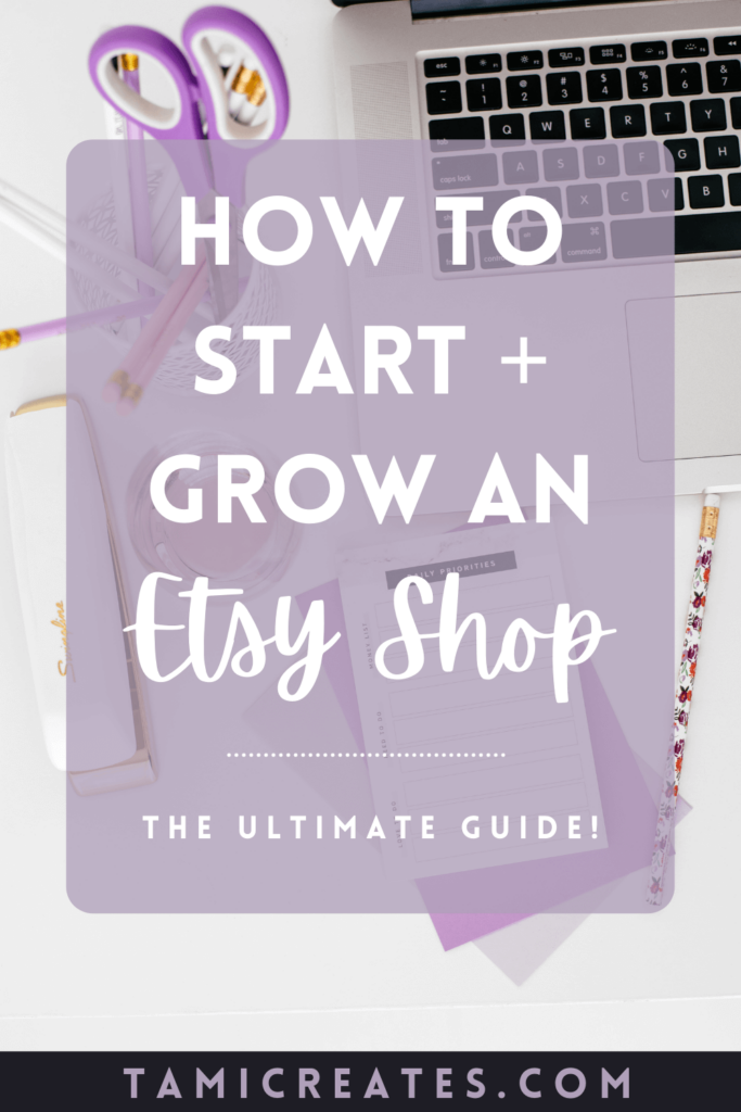 If you love to create handmade items or dream of selling vintage items, maybe you've considered opening an Etsy shop. Here's how to start an Etsy shop, from the idea phase to promotion! Plus 40 free listings for your new shop!