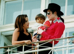 Michael and Lisa Marie with Bela Farkas in 1994