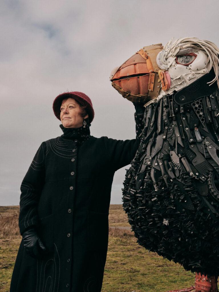 Angela Haseltine Pozzi, Founding Artist at Washed Ashore Org