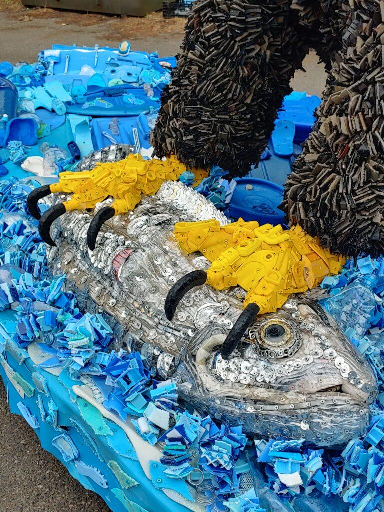 Rosa the Eagle's talons, Washed Ashore