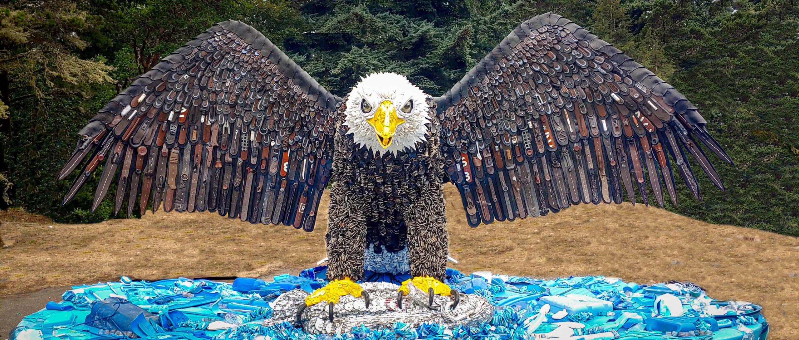 Rosa the Eagle, Washed Ashore