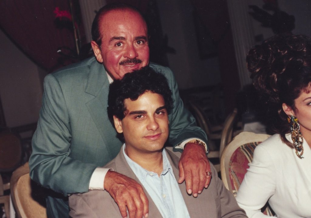 Adnan Khashoggi and son Omar Khashoggi