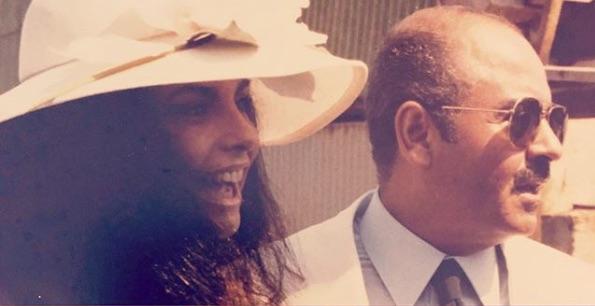 Adnan Khashoggi and daughter Nabila Khashoggi