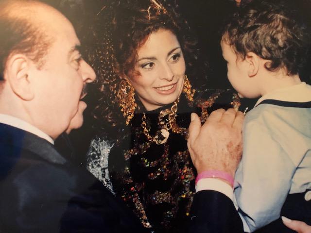 Adnan Khashoggi, Nabila Khashoggi, and Spartan Daggenhurst