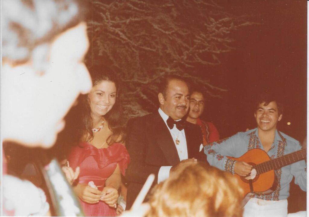 Adnan Khashoggi with Nabila Khashoggi
