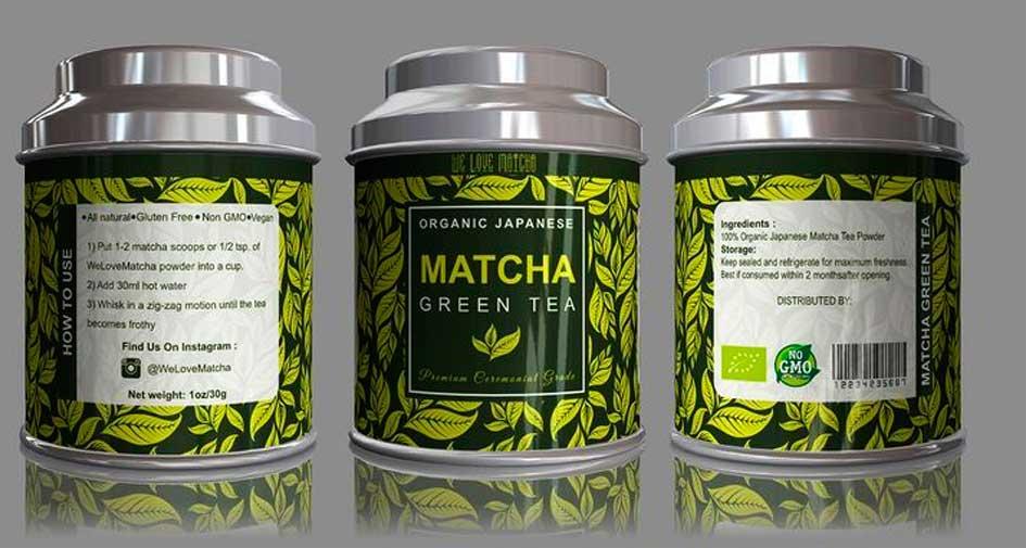 matcha label
