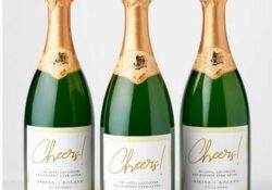 champagne labels
